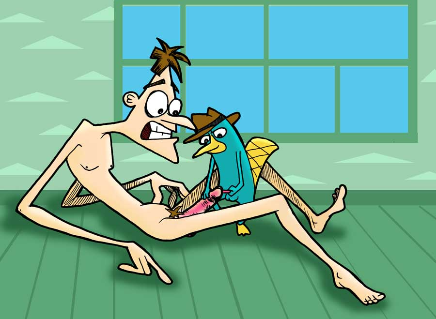 ferb and in sex phineas Hentai all the way through