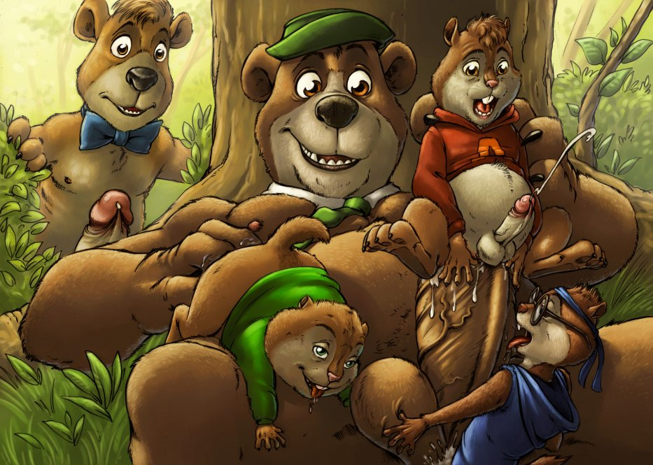 the chipettes chipmunks the & Conker's bad fur day berri