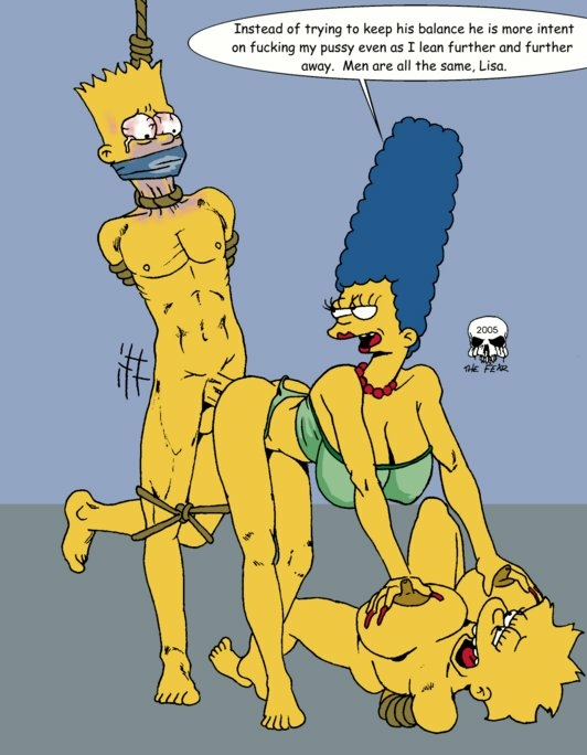 naked bart marge simpson with My new girlfriend is a gal