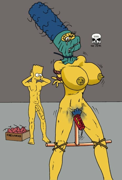 with naked bart marge simpson Kingdom hearts my little pony