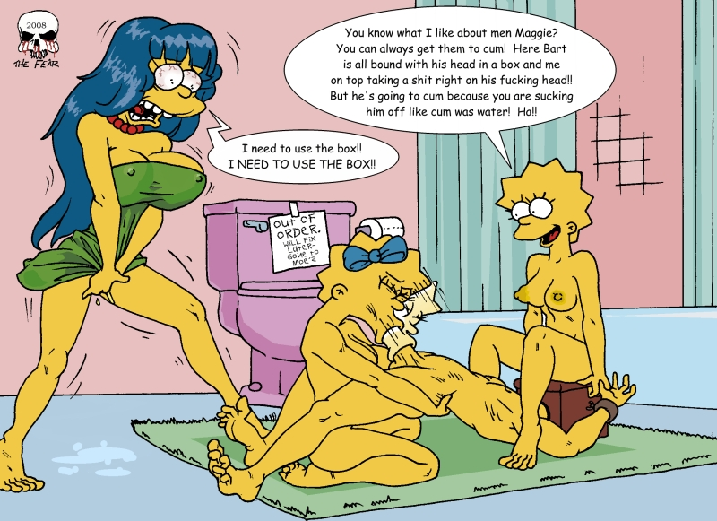 bart imagefap fear the and marge Lightning mcqueen as a human