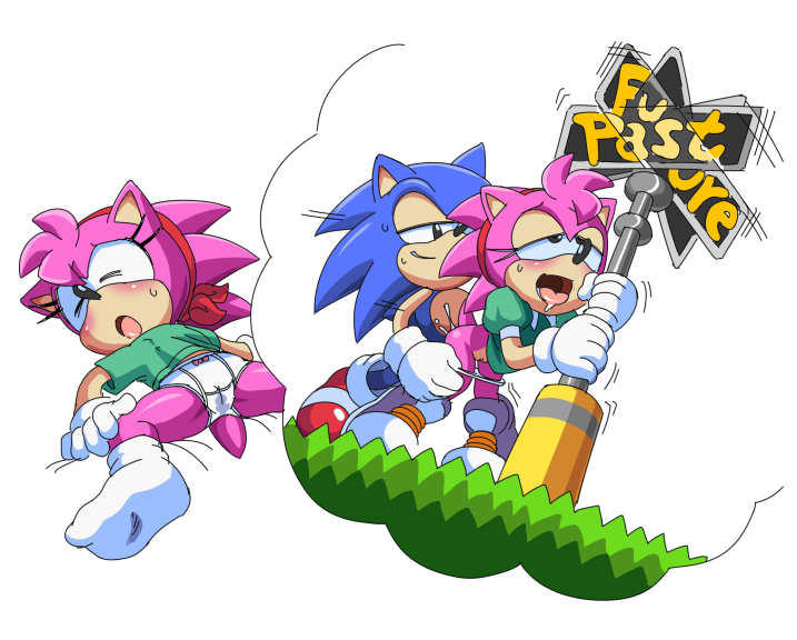 the how is old amy hedgehog Trials in tainted space shizuya