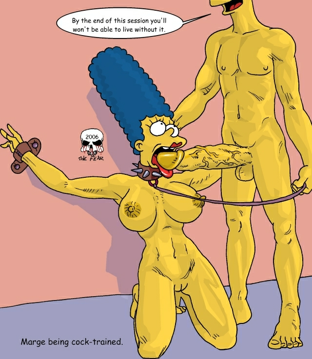 naked bart simpson with marge Lubella, the witch of decay
