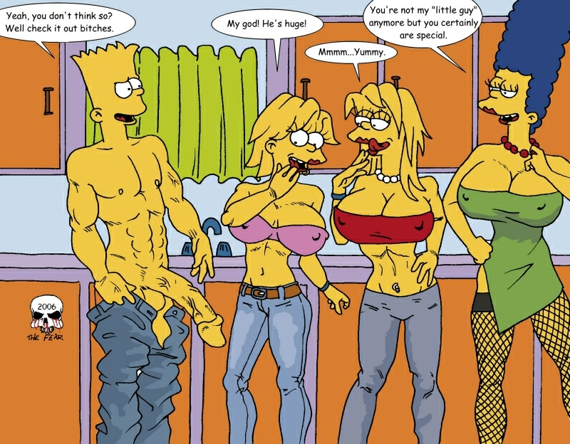 bart simpson with marge naked Cream the rabbit porn comics