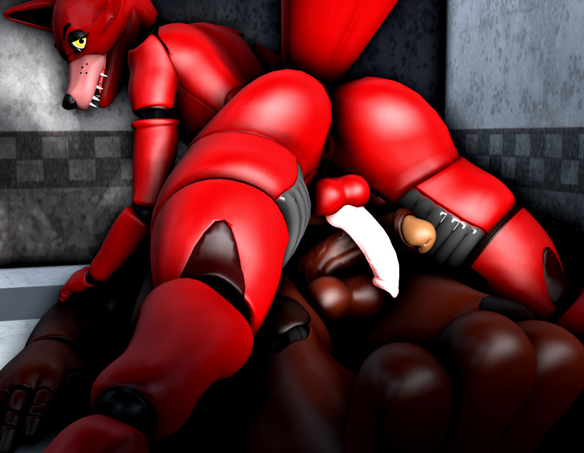 five nights freddys foxy at from Ink sans x error sans