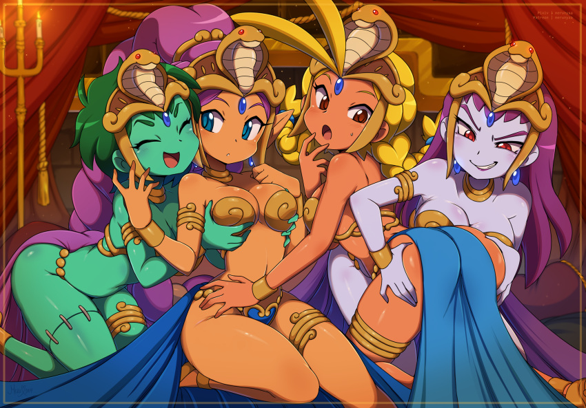 locations cacklebat pirate's the curse shantae and They are my noble masters uncensored
