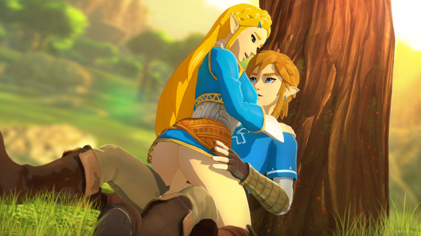 underwear breath of link the wild Adventure time flame princess